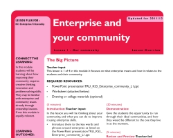Enterprise community l1 top