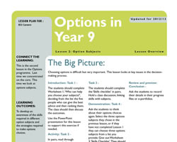 Tru careers year 9 options l2 small