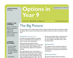 Tru careers year 9 options l3 small