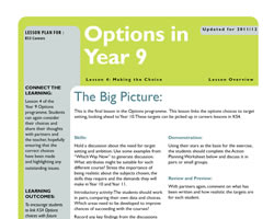 Tru careers year 9 options l4 small