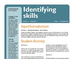Tru identifying skills