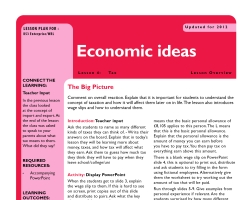 Tru ks3 enterprise economic ideas l4sm
