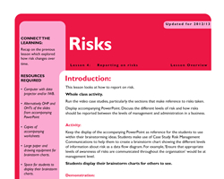 Tru ks3 enterprise risks l4 small
