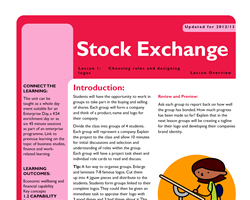 Tru ks3 enterprise stock exchange l1 small