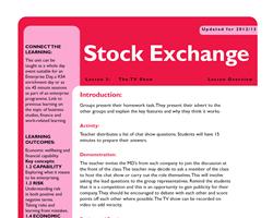 Tru ks3 enterprise stock exchange l3 small