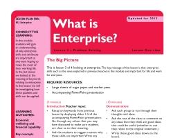 Tru ks3 enterprise whatisent l3sm