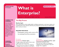 Tru ks3 enterprise whatisent l4sm