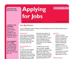 Tru ks3 wrl applying for jobs l1 small