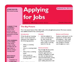 Tru ks3 wrl applying for jobs l2 small