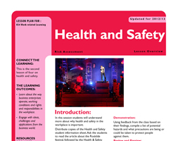 Tru ks3 wrl health and safety l2 small