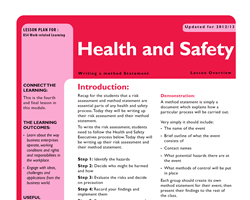 Tru ks3 wrl health and safety l4 small