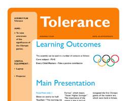 Tolerance top